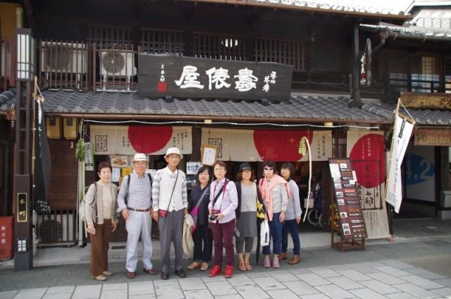 犬山城下でおいしいランチをいただきました!