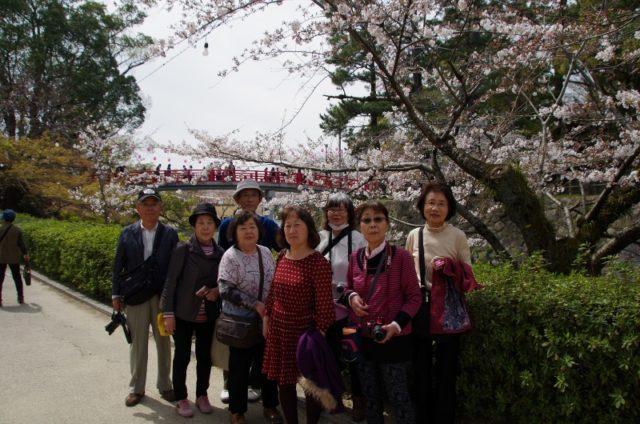 岡崎公園でパチリ!